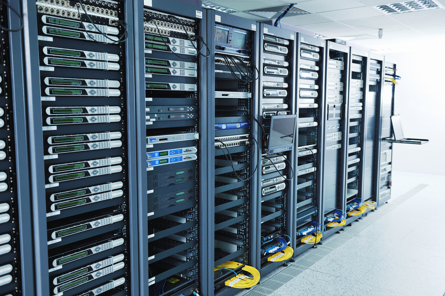 network server room - web host
